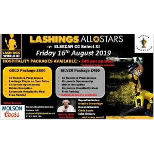 Lashings AllStars Return